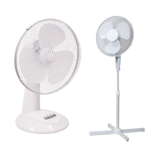 Air Cooling Pedestal, Wall And Desk Fans